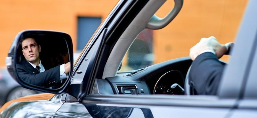 Услуги водителя охранника
